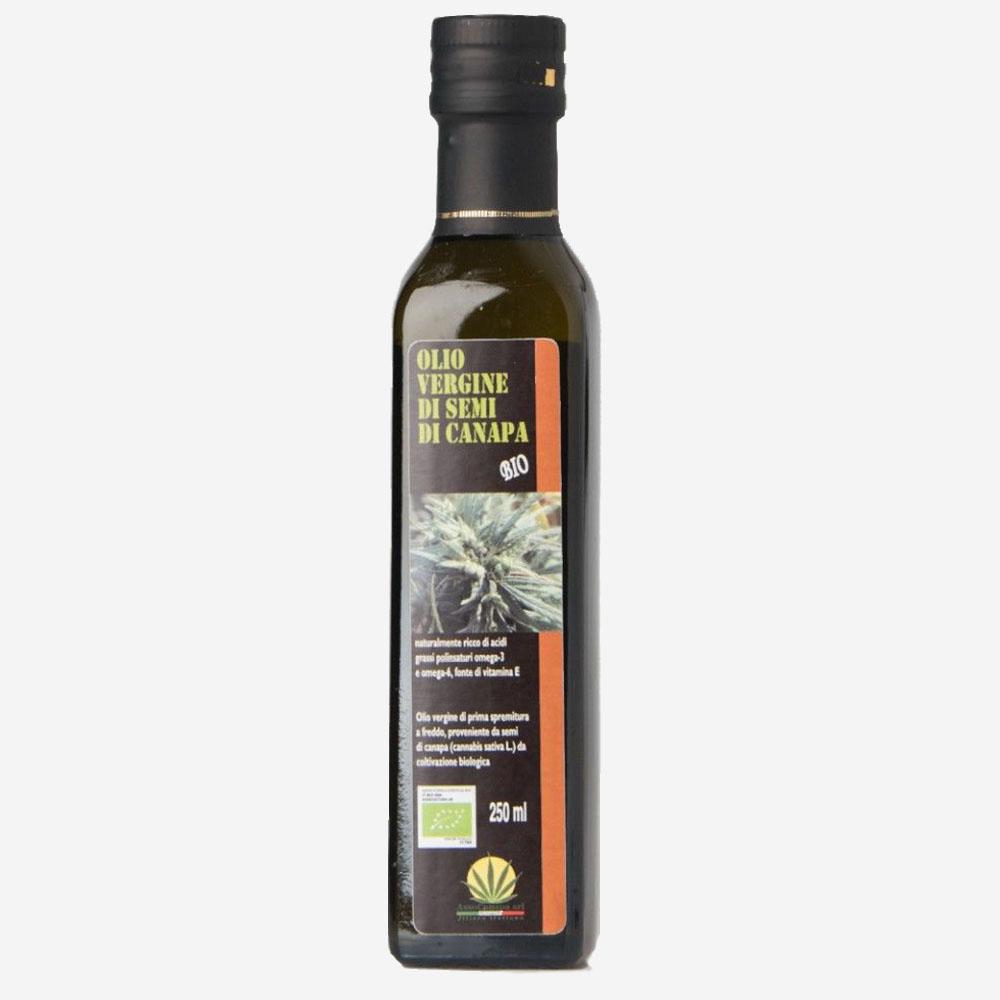 olio di canapa Bio
